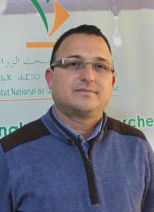 Dr Rachid Razouk, chercheur en agrophysiologie des arbres fruitiers et de l'olivier, URAPV - CRRA Meknès
