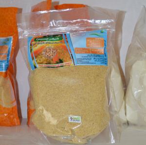 Couscous renforcé en légumineuse alimentaire